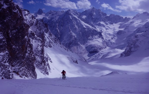 Ski-touring on the Central Caucasus