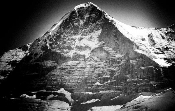 Winter Ascent of Eiger Wall