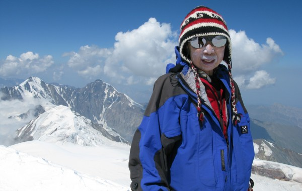 Kazbek Ascent (Summit) 2010