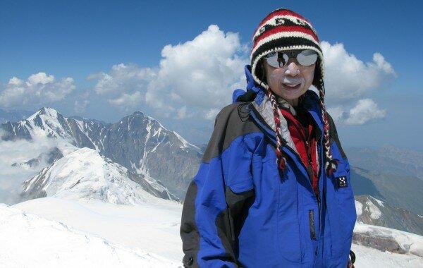 Kazbek Ascent (Summit) 2010