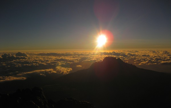 Kili Ascent. Tanzania