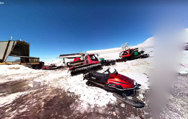 """Mt. Elbrus, """"MIR"""" – 3D view"""