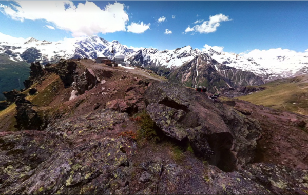 Mt. Elbrus, Observatory – 3D view