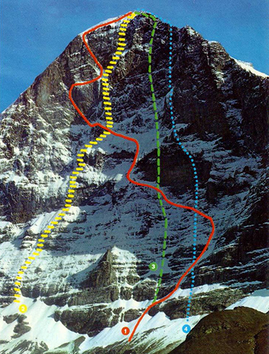 Climbing the North Wall of the Eiger