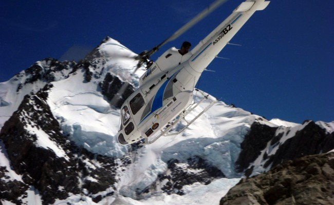 Mt. Dixon, helicopter