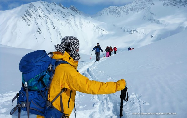 Aosta ski-touring trip, March 2016