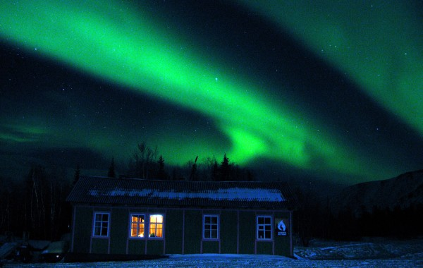"Polar lights ""Aurora"" seeing"