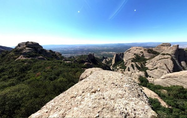 Park Natural de Monserrat – 3D view
