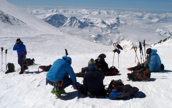 Ski trip on Mt. Elbrus. 2019