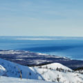Ski touring trip in Mamay Valley, Siberia, near Lake Baikal